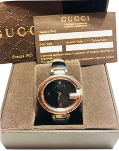 Gucci STAINLESS STEEL BANGLE BRACELET GUCCISSIMA G