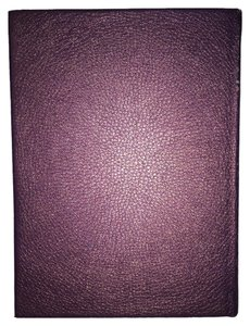 Metallic Eggplant Faux-Leather Journal [ Roxanne Anjou Closet ]