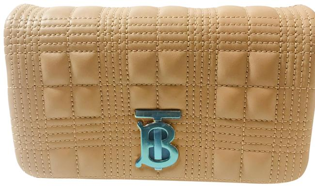 Item - Bum Quilted Lambskin Lola (2020) Camel Leather Shoulder Bag