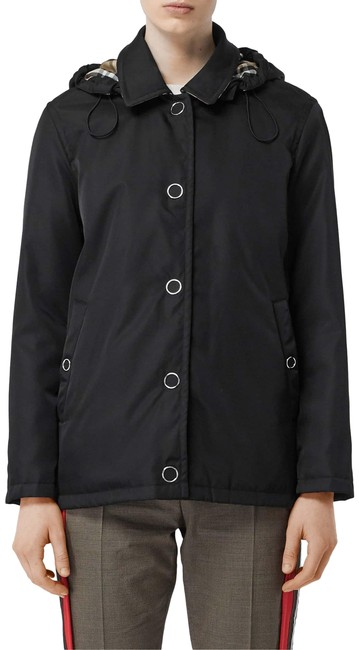 Item - Black Southport Hooded Short Car Small Coat Size 6 (S)