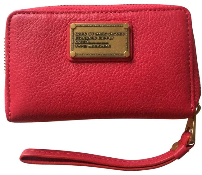 """Marc by Marc Jacobs """"rock Lobster"""" Red New Leather Wallet Marc by Marc Jacobs """"rock Lobster"""" Red New Leather Wallet Image 1"""