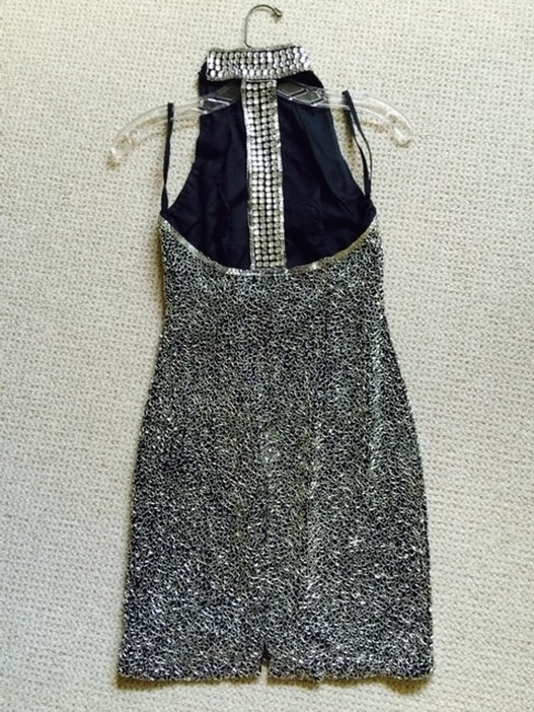 Vintage Lille Rubin short dress Silver Show Stopper on Tradesy