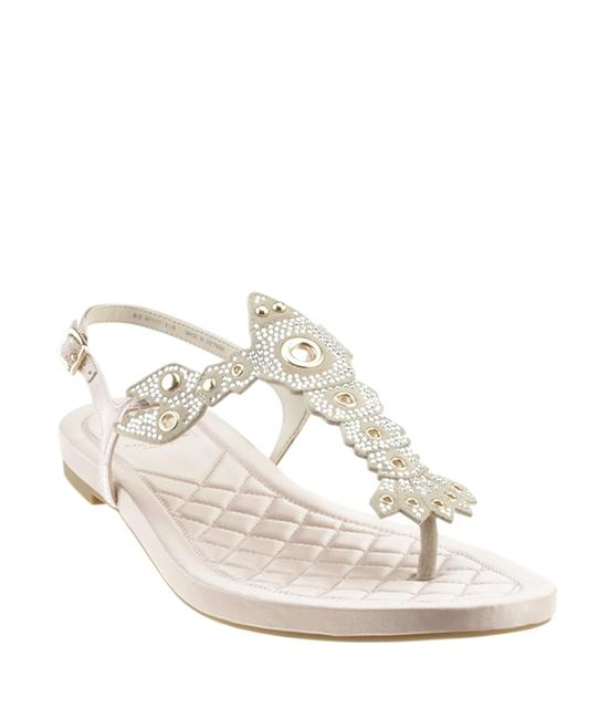 Item - Pink W11177 Pinch Lobster Quilted Satin (168281) Sandals Size US 9 Regular (M, B)