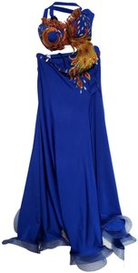 Blue Maxi Dress by Dancing Queen Dresses