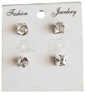 Fashion Jewelry For Everyone Crystal Stud Earrings