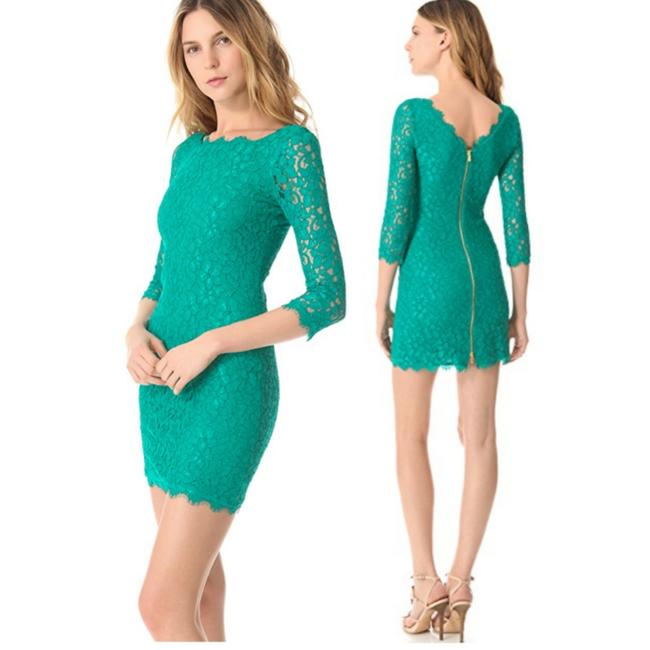 Item - Green Zarita Short Night Out Dress Size 6 (S)