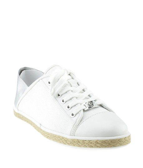 Preload https://img-static.tradesy.com/item/26768879/michael-kors-whitexsilver-kristy-white-and-silver-canvas-95-168338-flats-size-us-regular-m-b-0-0-540-540.jpg