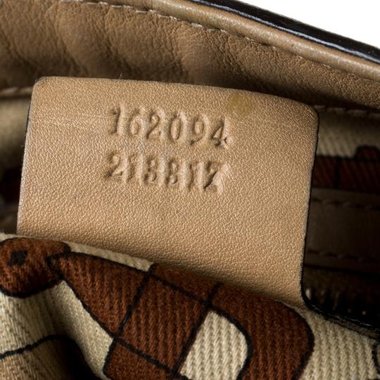 Gucci Leather Tote in Beige Image 8