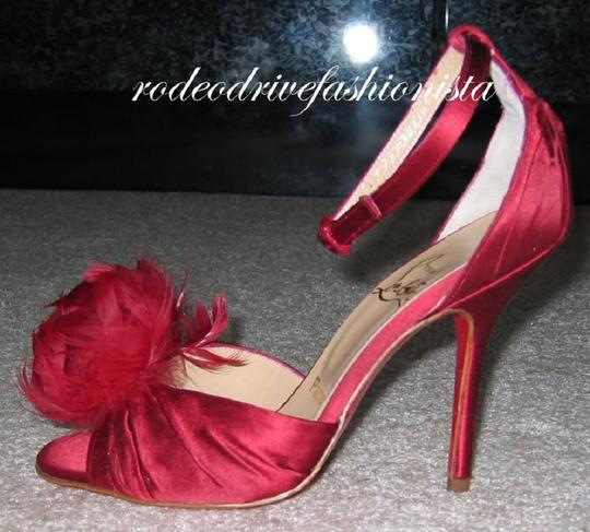 Christian Louboutin Red Sandals Image 1