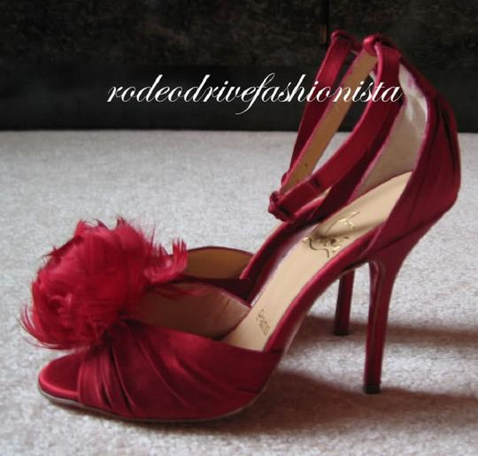 Christian Louboutin Red Sandals Image 2