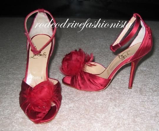 Christian Louboutin Red Sandals Image 6