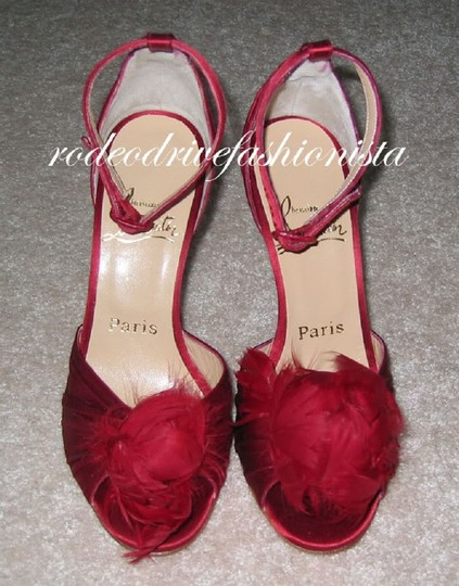 Christian Louboutin Red Sandals Image 7