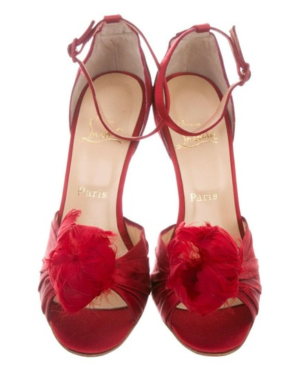 Christian Louboutin Red Sandals Image 9