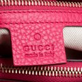 Gucci Leather Canvas Pink Clutch Image 9