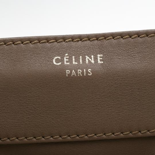 Céline Leather Mini Satchel in Brown Image 6