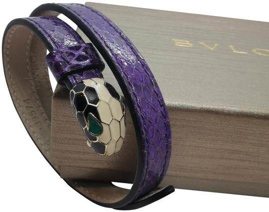 Preload https://img-static.tradesy.com/item/26769087/bvlgari-purple-serpenti-forever-double-coil-bracelet-0-1-540-540.jpg