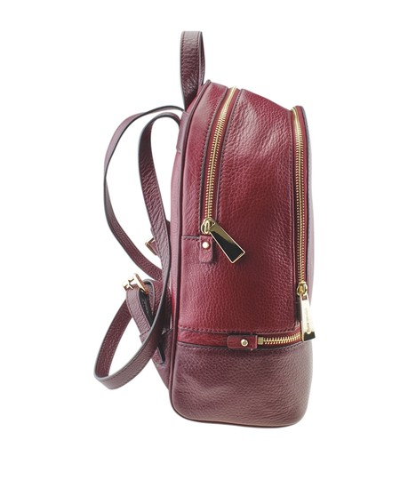Michael Kors Michael Kors Rhea Red Leather Backpack (167720) Image 2
