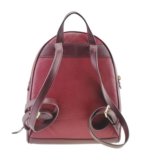 Michael Kors Michael Kors Rhea Red Leather Backpack (167720) Image 4