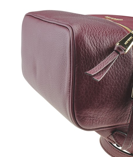 Michael Kors Michael Kors Rhea Red Leather Backpack (167720) Image 7