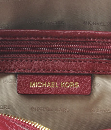 Michael Kors Michael Kors Rhea Red Leather Backpack (167720) Image 9