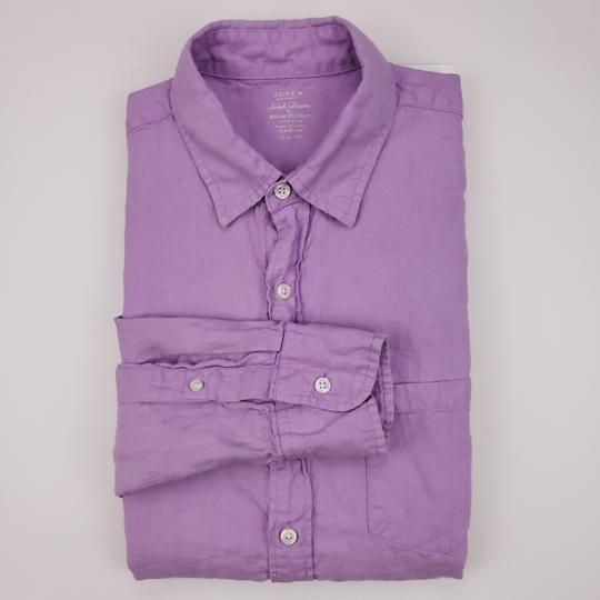 Preload https://img-static.tradesy.com/item/26769293/jcrew-purple-slim-fit-medium-irish-linen-baird-mcnutt-light-lav-shirt-0-0-540-540.jpg