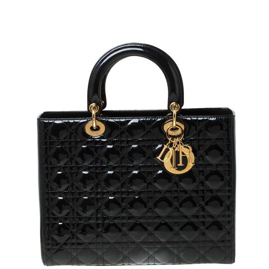 Preload https://img-static.tradesy.com/item/26769366/dior-lady-large-black-patent-leather-tote-0-0-540-540.jpg