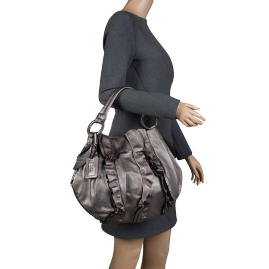 Prada Leather Hobo Bag Image 1
