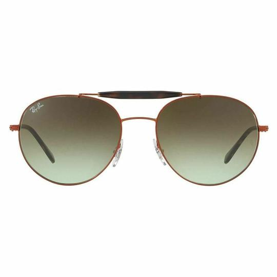 Ray-Ban Crystal Green Gradient Lens RB3540 9002/A6 Unisex Aviator Image 1