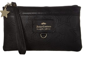 Juicy Couture Clutch Wristlet in black