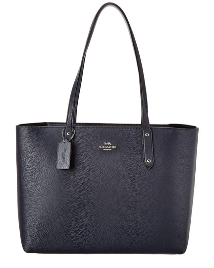 Preload https://img-static.tradesy.com/item/26769571/coach-central-leather-blue-tote-0-0-540-540.jpg