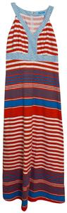 red blue white Maxi Dress by J.McLaughlin