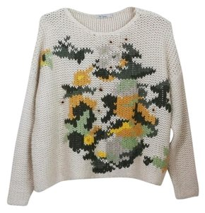 Mes Demoiselles Anthro Knit Sweater