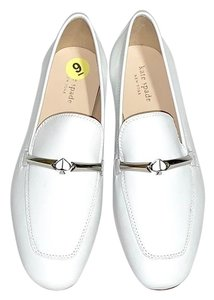 Kate Spade Loafers Optic White Flats