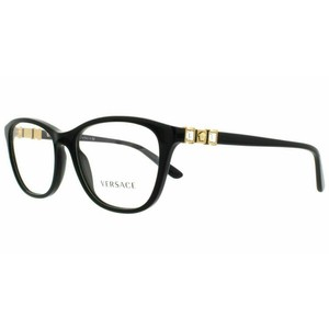 Versace Customisable Lens. VE 3213B GB1 52 Women's Cat Eye