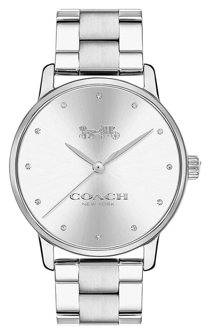 Item - Silver Grand Stainless Bracelet Womens 14502926 Watch