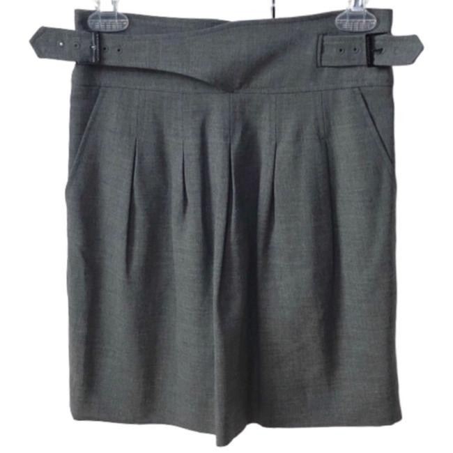 Item - Gray The High Waist Pleated Skirt Size 0 (XS, 25)