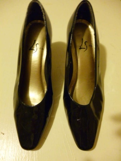 LifeStride Patent Leather Black Pumps