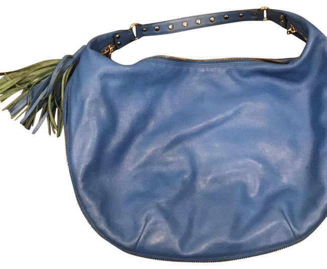 Item - Michelle Blue Hobo Bag
