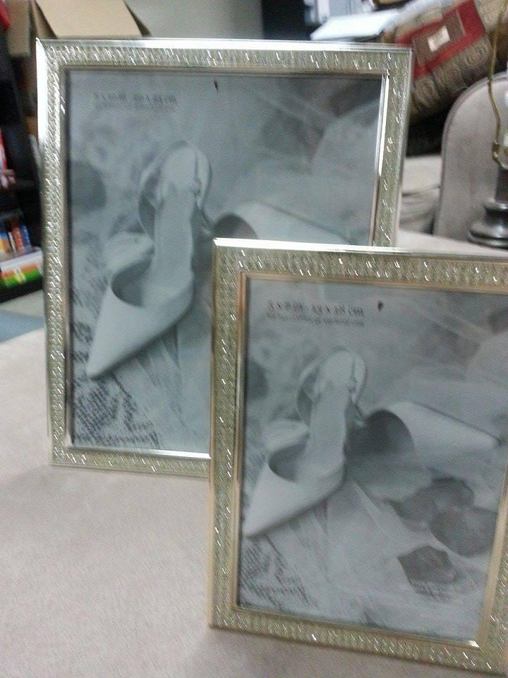 Bed Bath Beyond Silver With Rhinestones Picture Photo Frame Tradesy