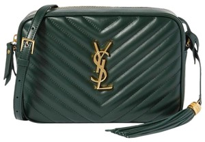 Saint Laurent Ysl Leather Cross Body Bag