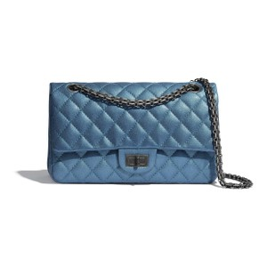 Chanel 2.55 Handbag Metallic Shoulder Bag