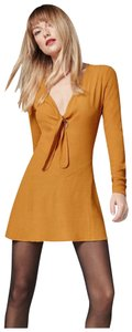 Reformation short dress Sunflower-Yellow on Tradesy