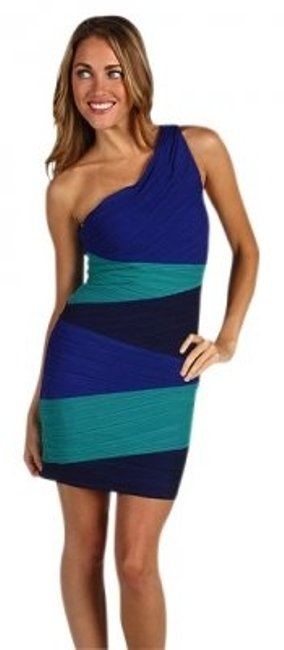 Preload https://item1.tradesy.com/images/bcbgmaxazria-blue-variation-kiara-one-shoulder-color-block-mini-cocktail-dress-size-4-s-26775-0-0.jpg?width=400&height=650