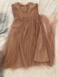 Jenny Yoo Cameo Pink Soft Tulle Wren Convertible Feminine Bridesmaid/Mob Dress Size 0 (XS)