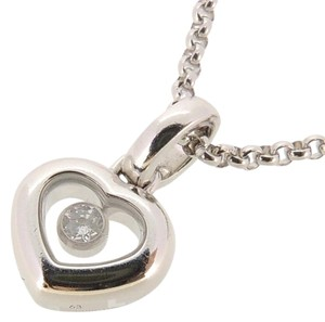 Chopard Chopard Happy Diamond Heart Ladies Necklace 794854-1001 750 White Gold DH54282