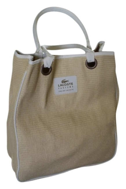 Item - Cream Woven Straw Beach Bag
