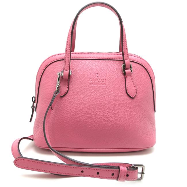 Item - Mini 2 Way Hand Holding Diagonal Hanging Ladies 341504 Outlet Glossy Pink Dh49735 Peach Leather Shoulder Bag