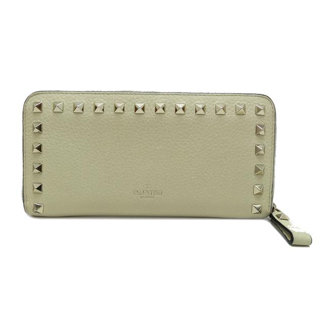 Item - Ivory Long Gauvani Studded Round Zipper Ladies Leather Dh51827 Wallet