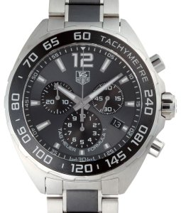 Tag Heuer Tag Heuer Formula 1 Chronograph Men's Watch CAZ1111.BA0878 Stainless Steel Gray Arabian Dial DH52152