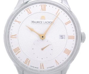 Maurice Lacroix Maurice Lacroix Masterpiece Tradition Small Second Men's Watch Stainless Steel Silver Roman Dial DH39689